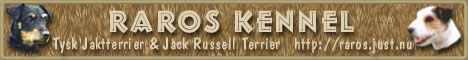 RaRos Kennel's Banner